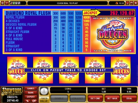 progressive video poker online