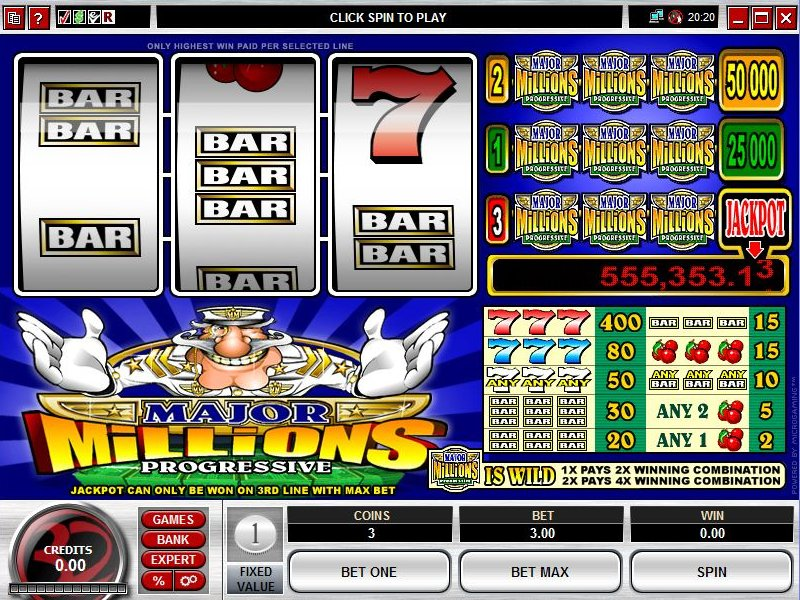 Progressive Slot Games