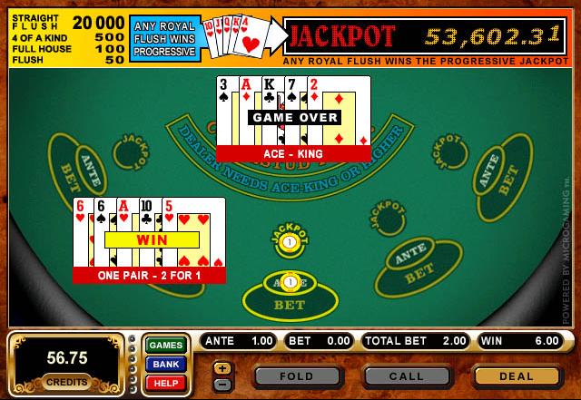 Celebrity mugshot poker