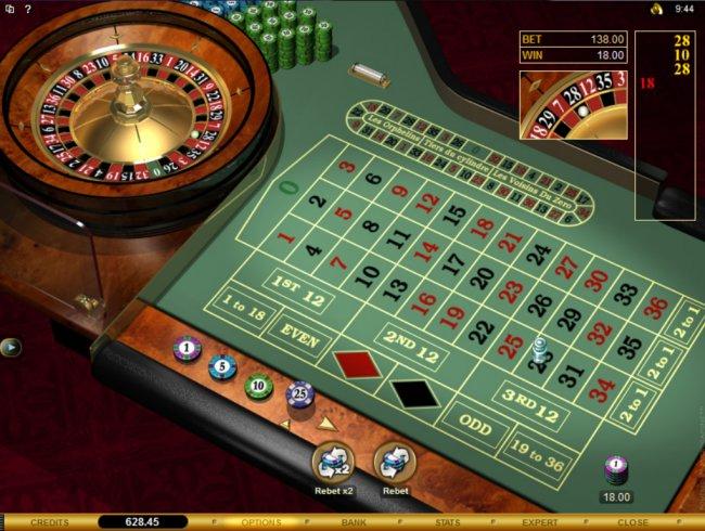 Zero roulette casinos
