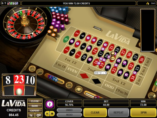 play Roulette at Casino LaVida