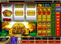 City Of Gold Reel Slot