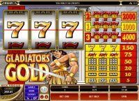 Gladiators Gold Reel Slot