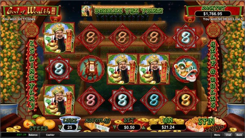 God Of Wealth - Rizk Casino