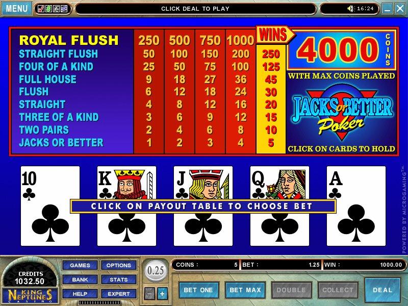 Free casino games/jacks or better harrahs casino metroplis