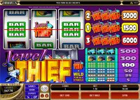 Jewel Thief Reel Slot