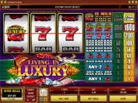 Living In Luxury Reel Slot