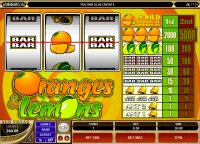 Oranges & Lemons Reel Slot