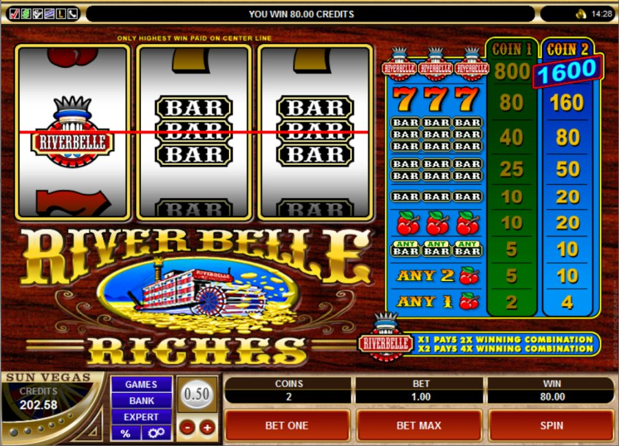 Win river casino games