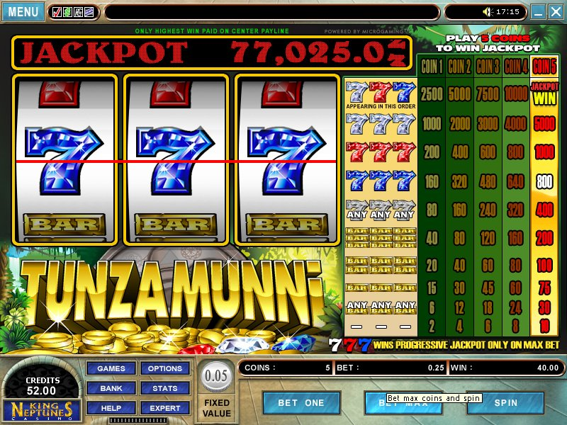 Tunzamunni Online Progressive Slots for Real Money-RizkCasino